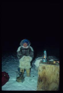 dreng på isen