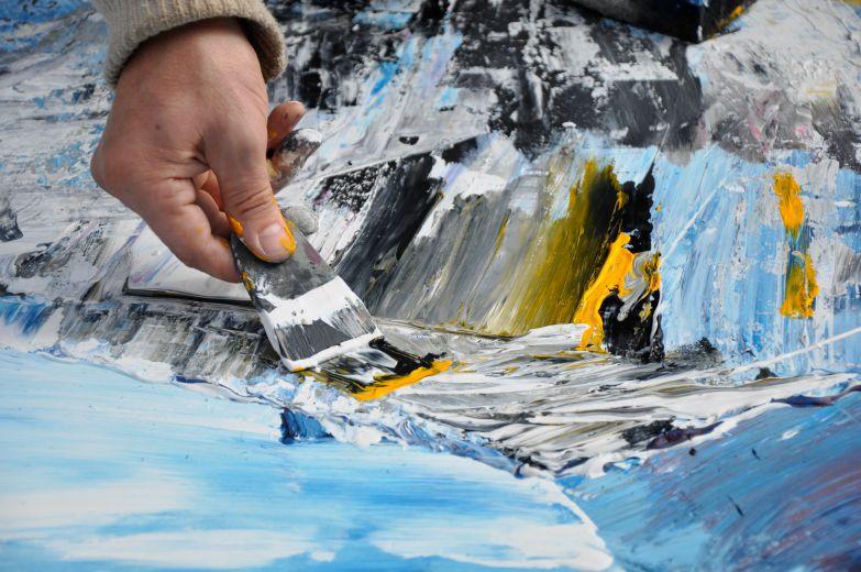 frise gul:blå