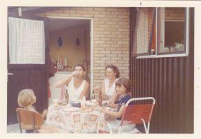 far, mor, Merete og Helle