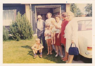 morfar, mor, Helle, moster Yrsa, Merete, Jette, mormor, Mogens