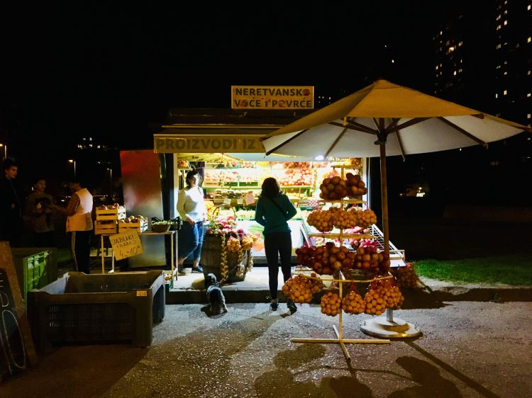 UvovedGadegrønthandler:Zagreb
